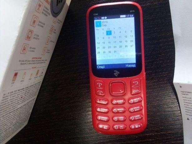 2E E240 2019 Dual Sim Red мобильный телефон на 2 симкарты бренд - link