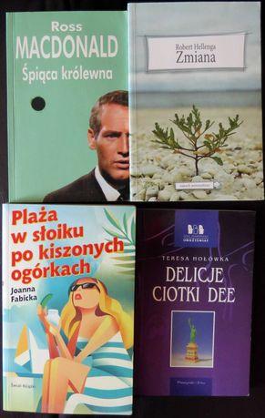 4 różne książki, jedna cena