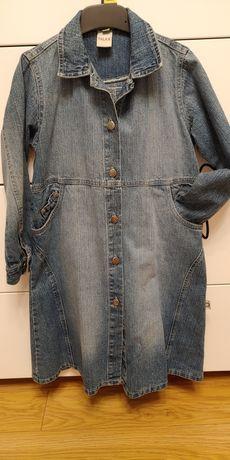 Sukienka Szmajzerka jeansowa r.122