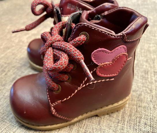 Ортопедические зимние сапожки, ботинки Botiki, стелька 14 см.