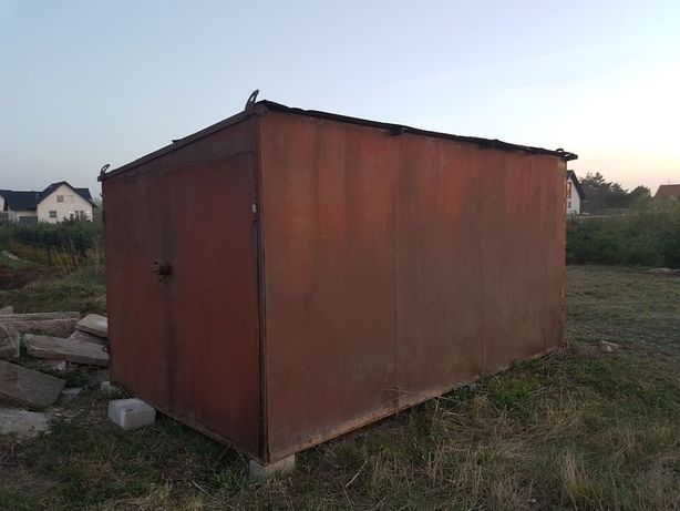 Garaż budowlany, kontener na działkę, na budowę - Mocny i Solidny !