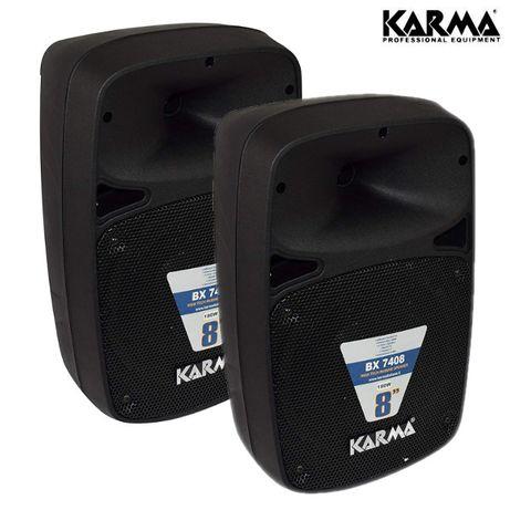 2x Colunas Passivas 8″ 180W máx (90W RMS por coluna) - KARMA