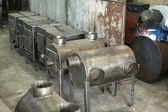 Печь с принудительной подачей тепла Брест 203 комплект с вентилятором