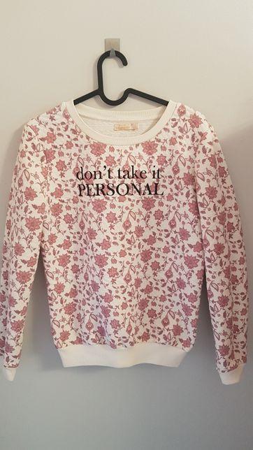 Bluza w kwiaty bershka xs