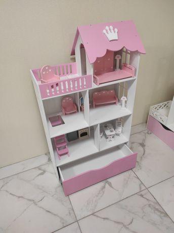 Домик для кукол, домик для куклы, кукольный домик