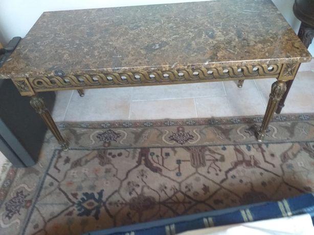 Mesa de apoio tampo mármore