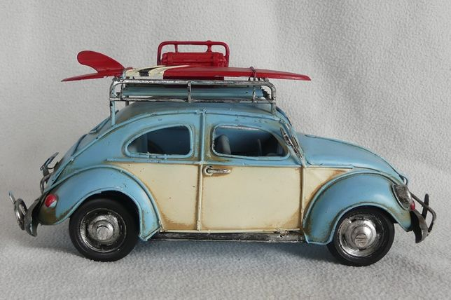 Metalowy model pojazd AUTO GARBUS