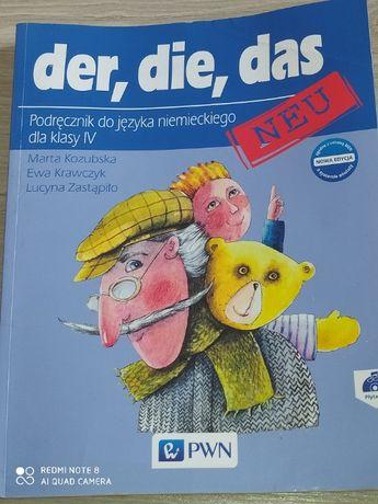 Der,Die,das neu język niemiecki kl.4 Kozubska,Krawczyk