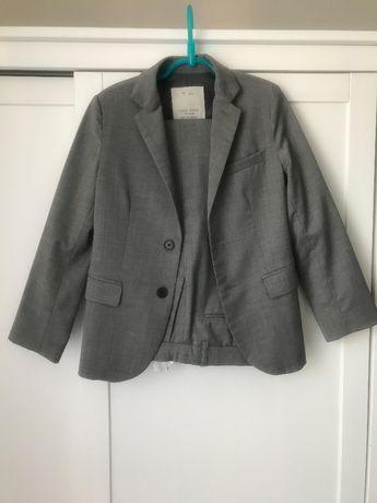 Wełniany garnitur chłopięcy marki Zara