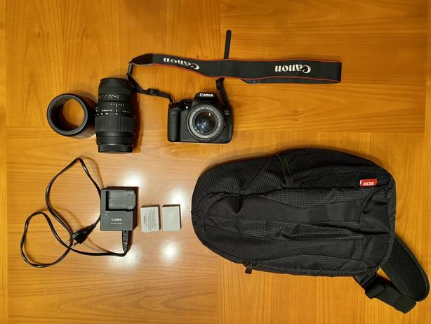 Canon 700d c/18-55mm Ef-s