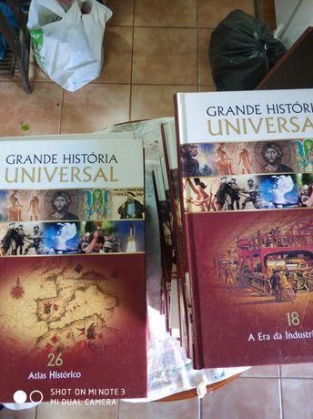 Livros grande história universal