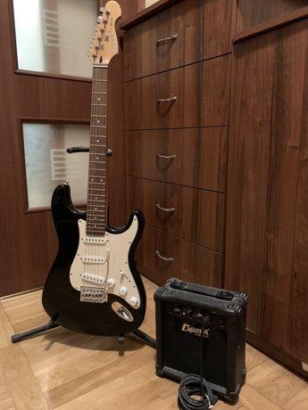 Cruiser by Crafter gitara elektryczna z piecem