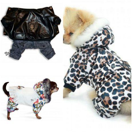 Зимние комбинезоны для собак, большой выбор одежды