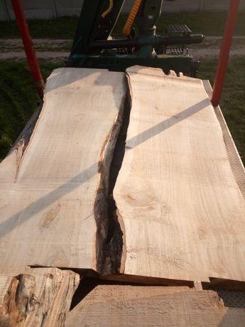 Topola 110cm blaty monolit stoły deska
