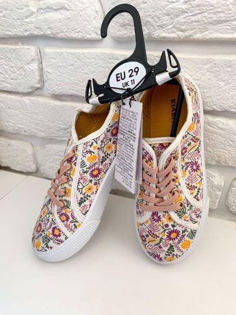 Кеды кроссовки Kiabi на девочку 29 размер