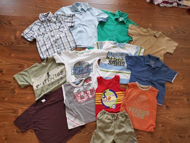 Mega paka koszulki t-shirty bluzki na lato dla chłopca 98