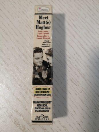 Помада стойкая, жидкая помада для губ The Balm Meet Matte Hughes