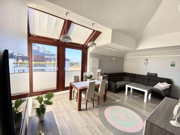 Mieszkanie dwupoziomowe 76m2, piwnica, balkon