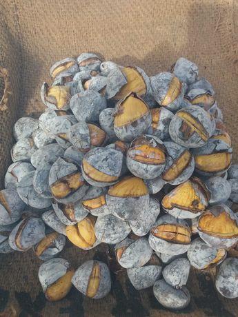 Assador castanhas (Quentes e Boas)