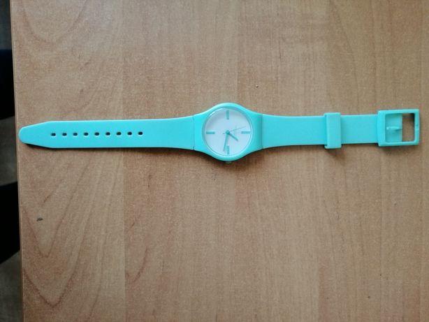 Pastelowy miętowy zegarek damski Identity London nowy