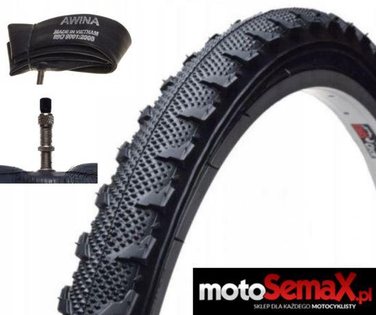 Opona Bike 26 X 1.95 M328 + Dętka 26 X 1.75/1.95 DV 35 MM AWINA