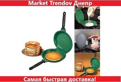 Двухсторонняя сковорода для приготовления блинов Pancake Maker