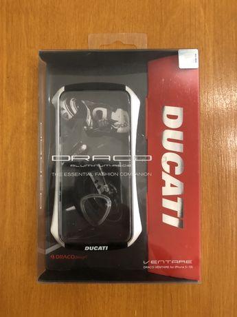 Capa / Bumper Aluminio iPhone 5, 5S e SE, Drago Ventare - Ducati