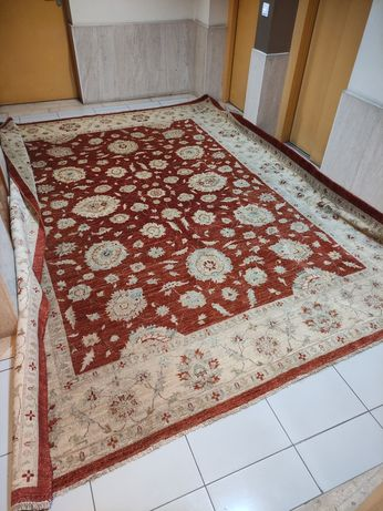 Tapete Ziegler Paquistão Carpete Oriental Manual