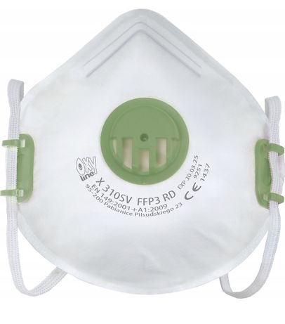 MASKA FFP3 maseczka ochronna antywirusowa FILTR P3