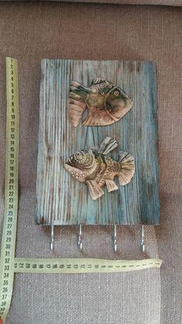 Ключница (керамика/декор)
