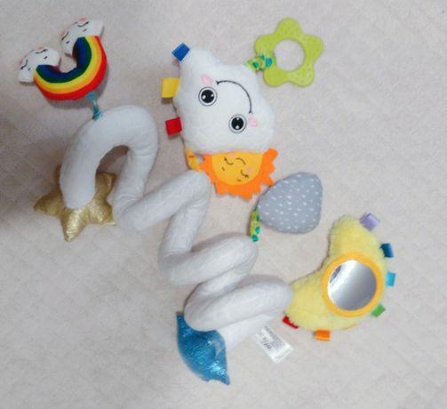 Sensoryczna zabawka/ duża spiralna zawieszka BaliBazoo