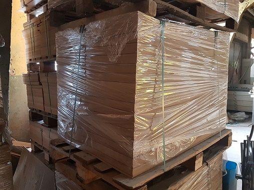 Przekładki paletowe, płyty na palety / HDF 3mm 800 x 1200