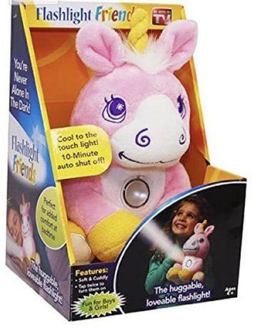 Ночник мягкая игрушка-фонарик единорог flashlight