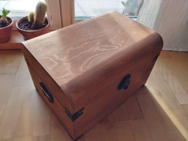 solidna skrzynka drewniana 47x30x34 cm / możliwość kupna 3 sztuk