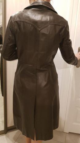 Sprzedam skórzany płaszcz
