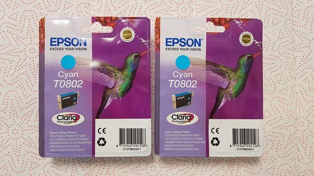 Картриджи Новые Epson T0802, T0805, T0734(N)