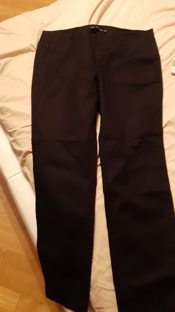 Spodnie ZARA 42 czarne eleganckie nowe