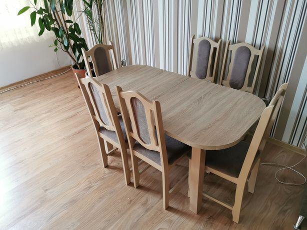 Stół jadalny + Krzesła