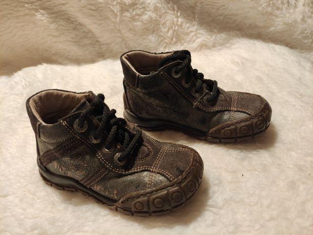 Buty buciki trzewiki dziecięce skórzane rozmiar 22