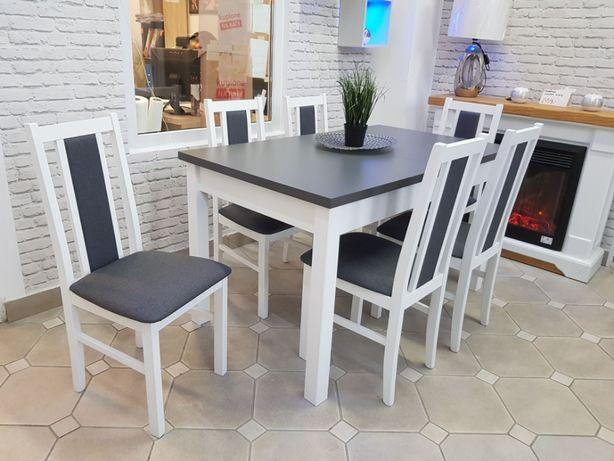 - 20% Nowy Stół + 6 Krzeseł Dostępne od ręki Grudziądz Kwidzyn Tczew