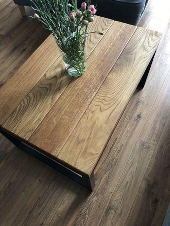 Stolik Kawowy, Ława , Loft , drewno Dębowe