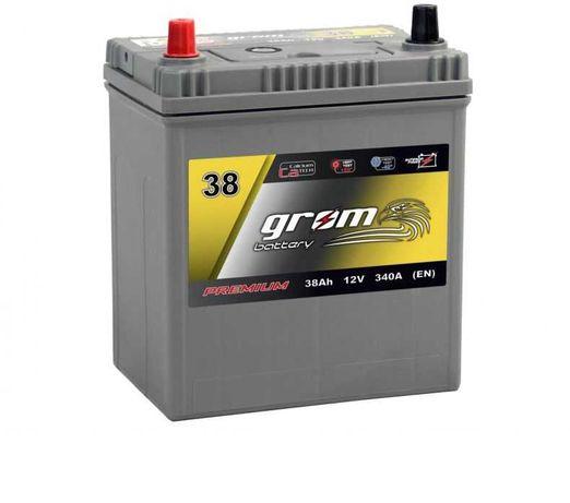 Akumulator GROM 45Ah 50Ah 55Ah 60Ah 65Ah 74Ah 80Ah 85Ah 95Ah 100Ah
