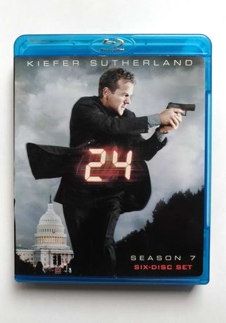 Série 24 temporada 7 em blue-ray