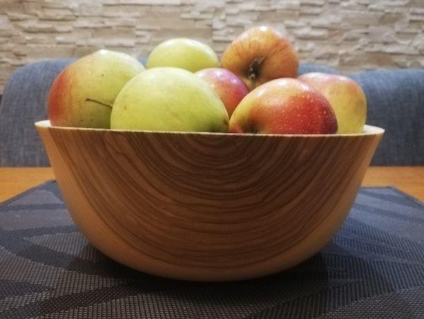 MIsa drewniana, misa na owoce