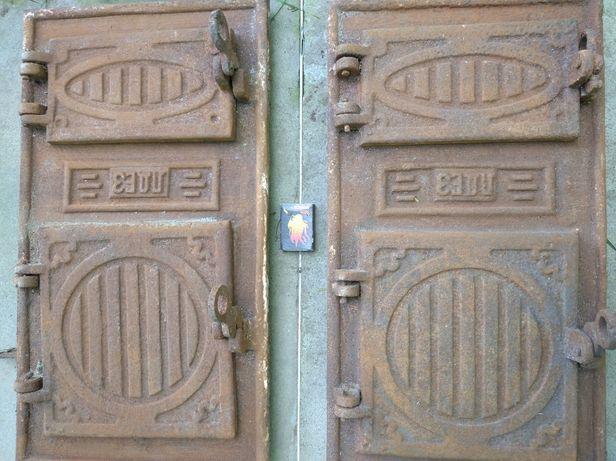Пічні дверцята чугунні