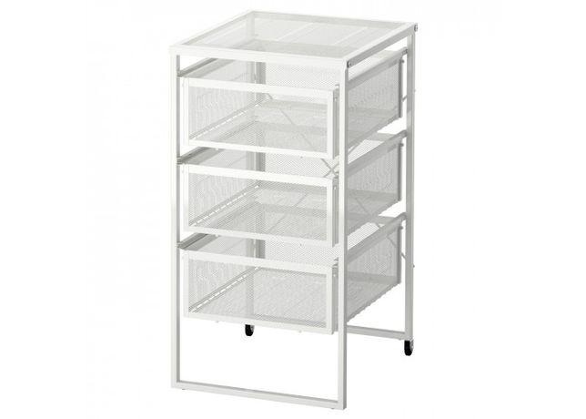 Тумба с ящиками для бумаг IKEA LENNART белый, ИКЕА комод в наличии!