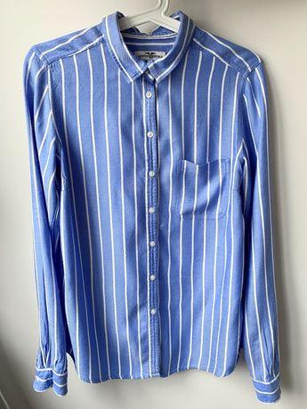 Koszula 100% wiskoza błękitna w paski