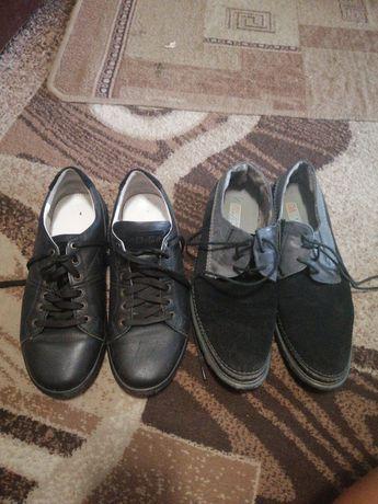 Туфлі повністю шкіряні