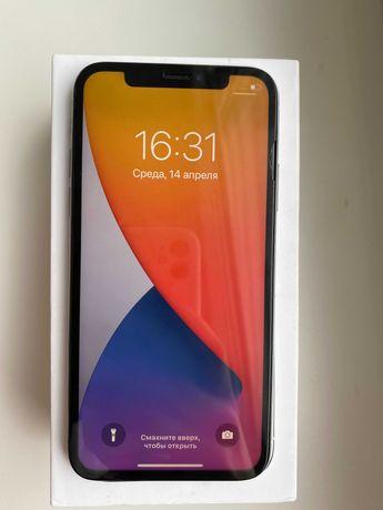 Продам Iphone X 64Gb Silver neverlock