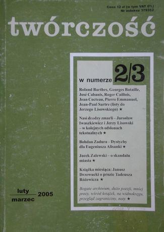 Twórczość nr 2/3 luty marzec 2005 r.